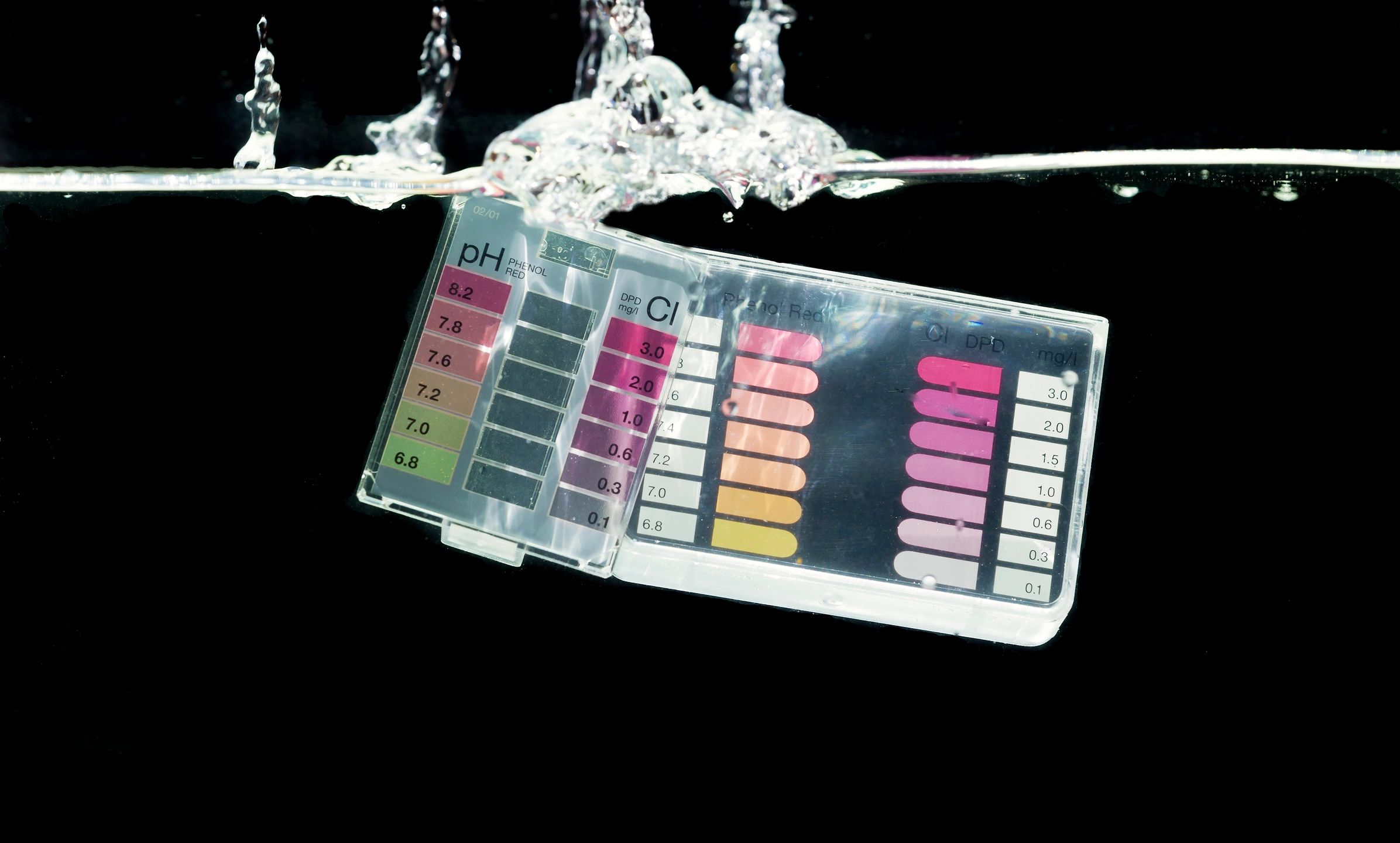 "Pool Chemistry is comprised of 5 key elements: PH, Alkalinity, Chlorine, Calcium Hardness & Cyanuric Acid. The most common way to test for these chemical levels requires a Taylor or Lamotte test kit similar to the one shown above. This particular unit utilizes ""Drop Testing."" This is one of the simplest method to test your pool chemistry - and we can show you how it's done!"
